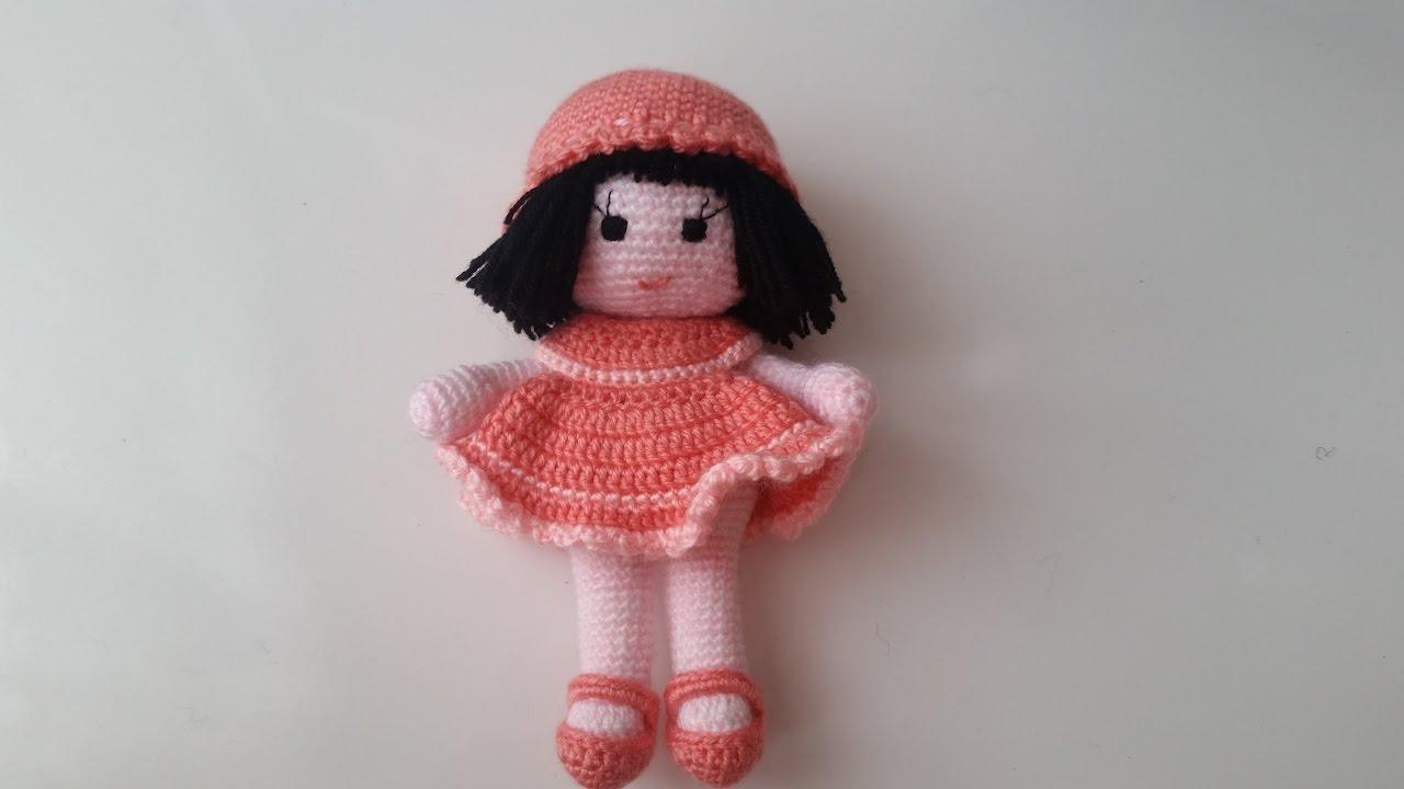 Amigurumi Bebekte Saç Yapımı : Amigurumi bebek yapımı crochet amigurumi baby youtube