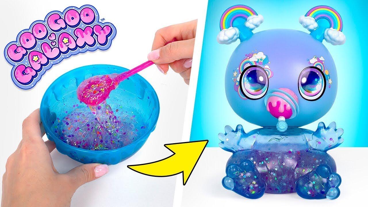 Download Goo Goo Galaxy Puppe   DIY Schleim & Glitzer Set - Erstellen, Füttern, Füllen & Nachfüllen