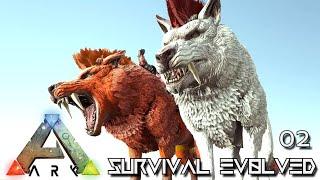 ARK: SURVIVAL EVOLVED - GELRAGARIAN DIREWOLF & BETA PTERA EVO !!! | ARCHAIC ASCENSION PYRIA E02