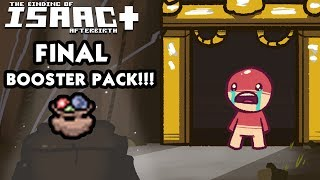 Binding of Isaac FINAL BOOSTER PACK 5 Overview - New Items - What