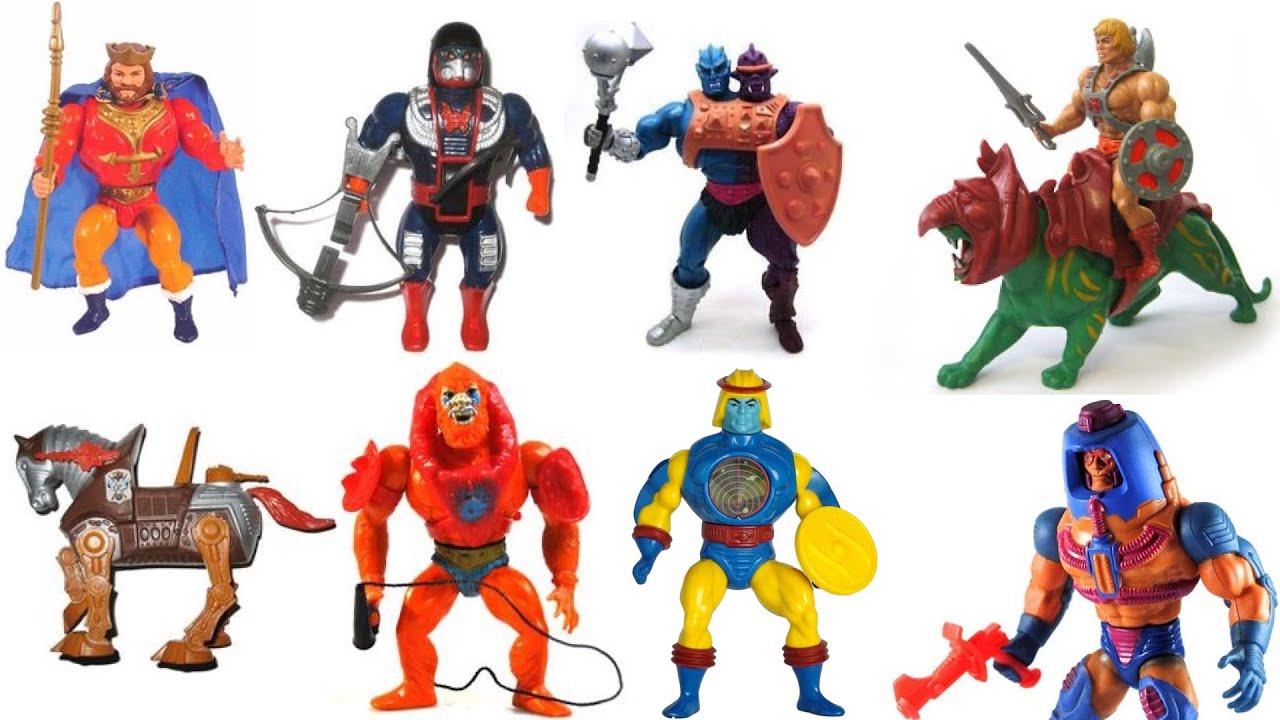 Heman Action Figure: 25 Vintage He-Man Action Figures!