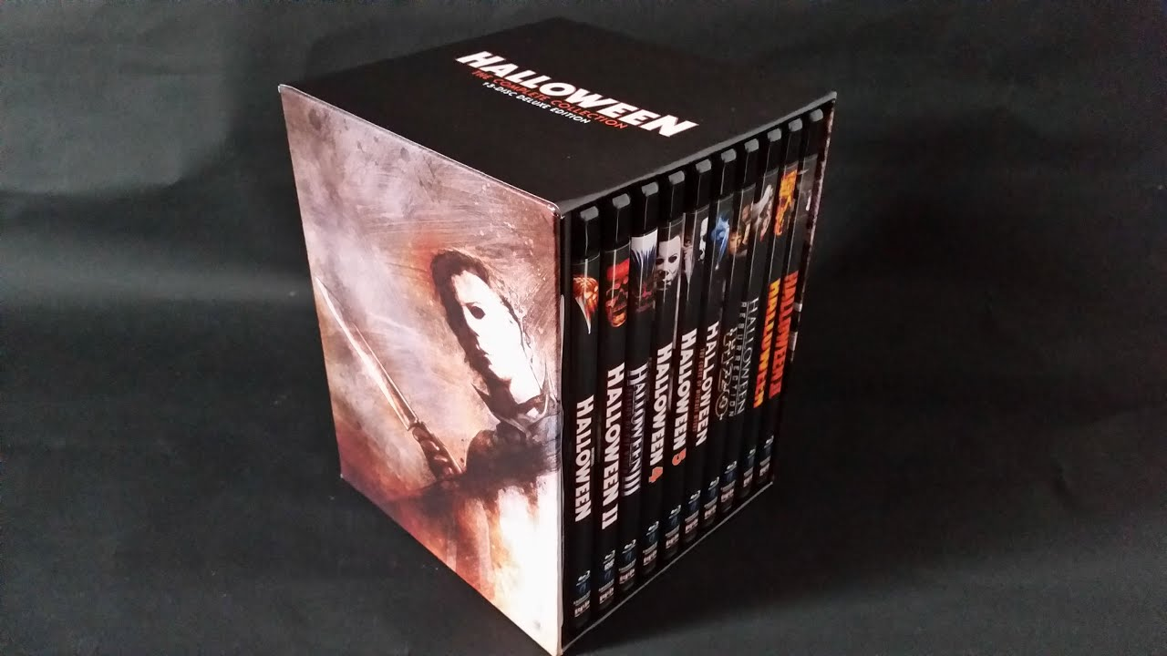 halloween: the complete collection blu-ray limited deluxe edition