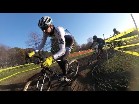 CYCLOCROSS: Dueling IN-RACE GoPros at Verge Noho CX Day 2 - Jack vs Lindine