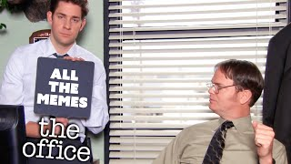 The Office U.S. but it's just all the memes | Comedy Bites