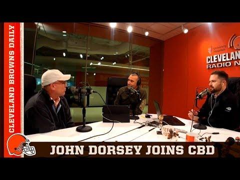 GM John Dorsey Joins CBD | Highlight: Cleveland Browns Daily 11/14