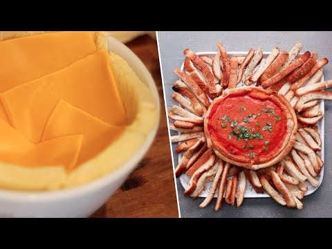 Grilled Cheese & Tomato Soup Bowl- Buzzfeed Test #119