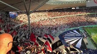 DFB Pokalfinale 19.5.2018, Eintracht Frankfurt - FC Bayern, Schwarz-Weiß wie Schnee