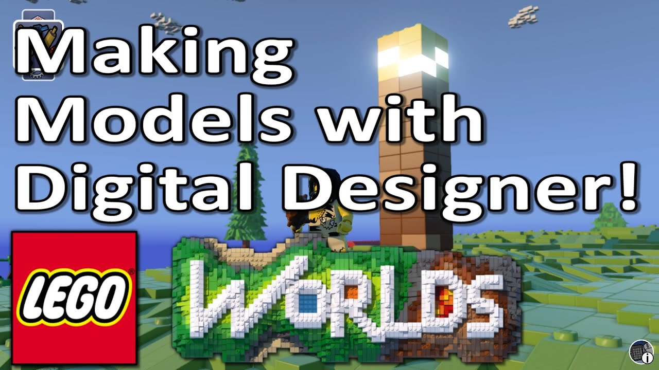 Lego worlds tutorial build your own models with digital designer lego worlds tutorial build your own models with digital designer youtube pronofoot35fo Images