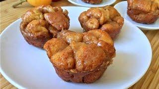 Monkey Bread Muffins - Easy Pull Apart Breakfast Bread Recipe