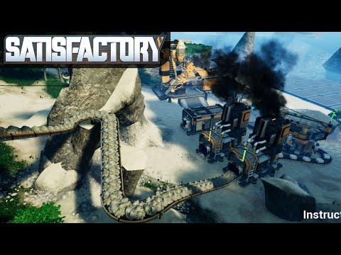 OCEANSIDE BASE SETUP   Satisfactory   Multiplayer Gameplay   S01E02