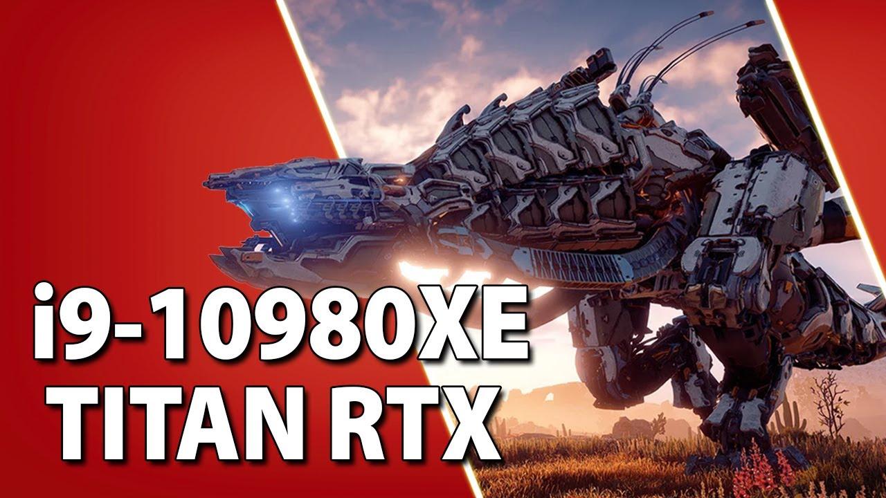 i9-10980XE + TITAN RTX // Test in 10 Games | 1080p, 1440p, 4K