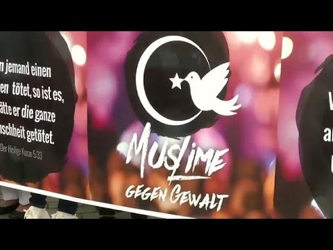 مسلمون يشاركون في مسيرة ضد التطرف في كولونيا