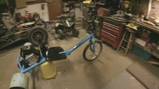 How To Build A Motorized Drift Trike #3of3