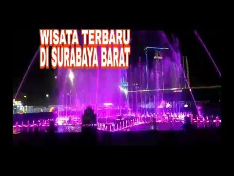 air-mancur-menari-destinasi-wisata-baru-surabaya-barat