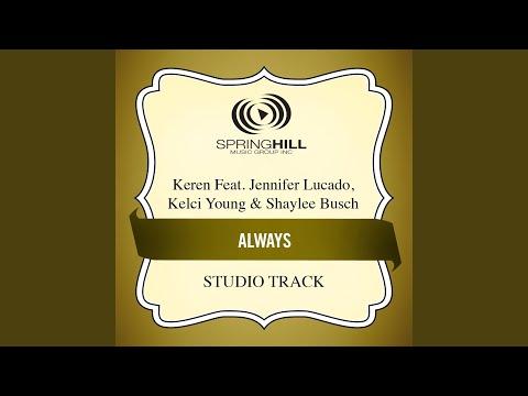 Always (Medium Key Performance Track With Background Vocals)