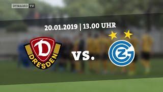 Testspiel: SG Dynamo Dresden gegen Grasshopper Club Zürich