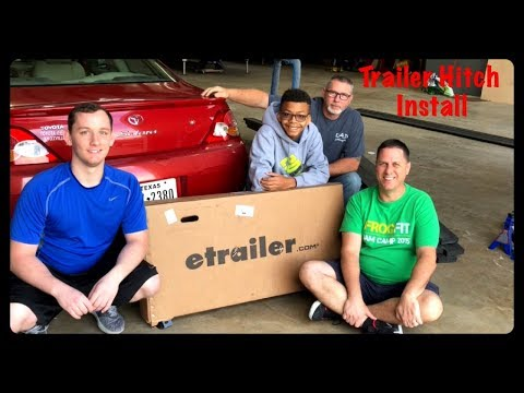 Installing a Trailer Hitch on the 2002 Toyota Solara