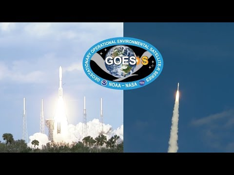 ULA Atlas V launches GOES-S Weather Satellite, 1 March
