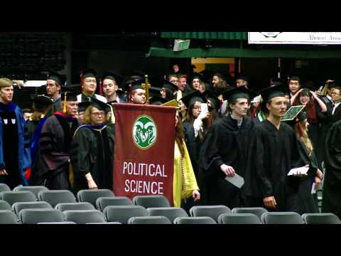 Colorado State University College of Liberal Arts II Spring 2016 Commencement