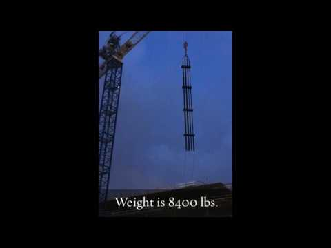 Vertical Riser Shaft Installation  Setting 1080p