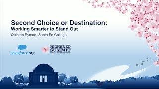 Second Choice or Destination