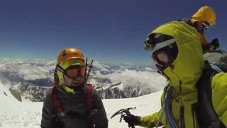 Mont Blanc wejście