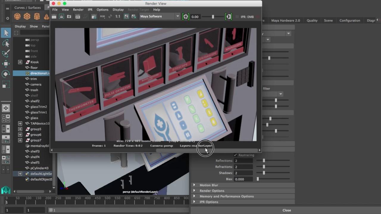 Maya Optimization for Final Render