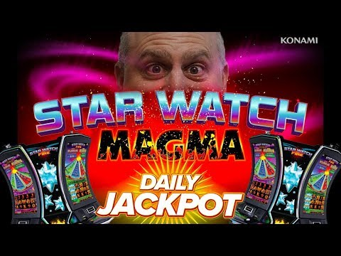 🌋FUN WIN! 🌋 Big Jackpot on Star Watch Magma Slots | The Big Jackpot