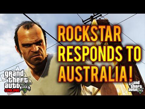 GTA 5 Take Two/Rockstar Respond To Australia GTA 5 Ban! Shots Fired! (GTA 5 Xbox One)