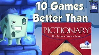 10 Games Better Than Pictionary - with Tom Vasel