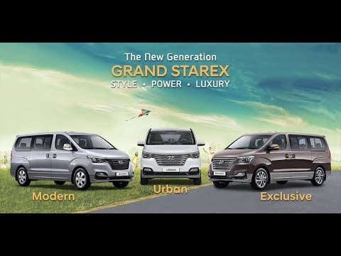 The New Generation 2018 Hyundai Grand Starex