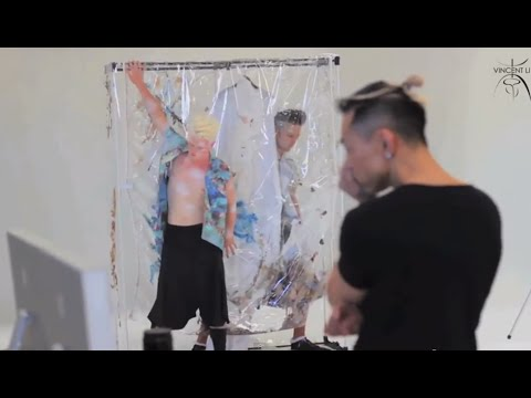 VINCENT SS2015/2016 MENS COLLECTION - BEHIND THE SCENES