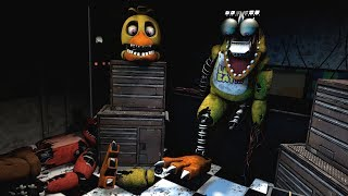 [FNAF Help Wanted] Repairing Withered Chica Game-play Animation - Five Nights at Freddy's VR
