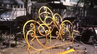 Кованая кровать от фабрики досс лот№ 054(, 2015-06-04T07:37:00.000Z)
