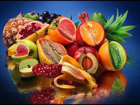 Экзотические фрукты и ягоды , Exotic fruits and berries