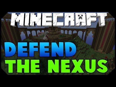 Minecraft: ANNIHILATION WAR GAMEMODE | DEFEND THE NEXUS w/ AciDic BliTzz!