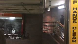 A Ride on MBTA Orange Line from North Station to State Street