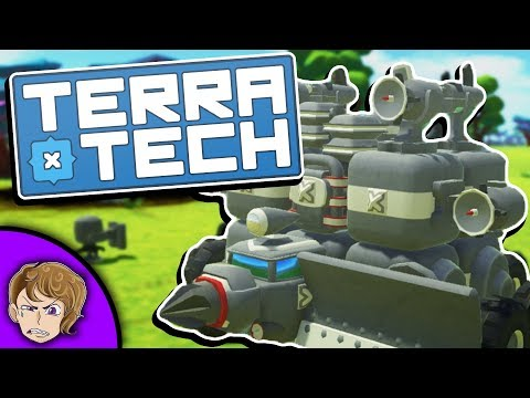 Terratech - Ep 1 - THE WAR MACHINE!! - NEW UPDATE!! - Terratech v0.8.1 Gameplay, Let's Play - Ep 1