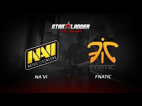 NaVi Teamspeak Vs Fnatic(1st Map)@StarLadder StarSeries X FINAL