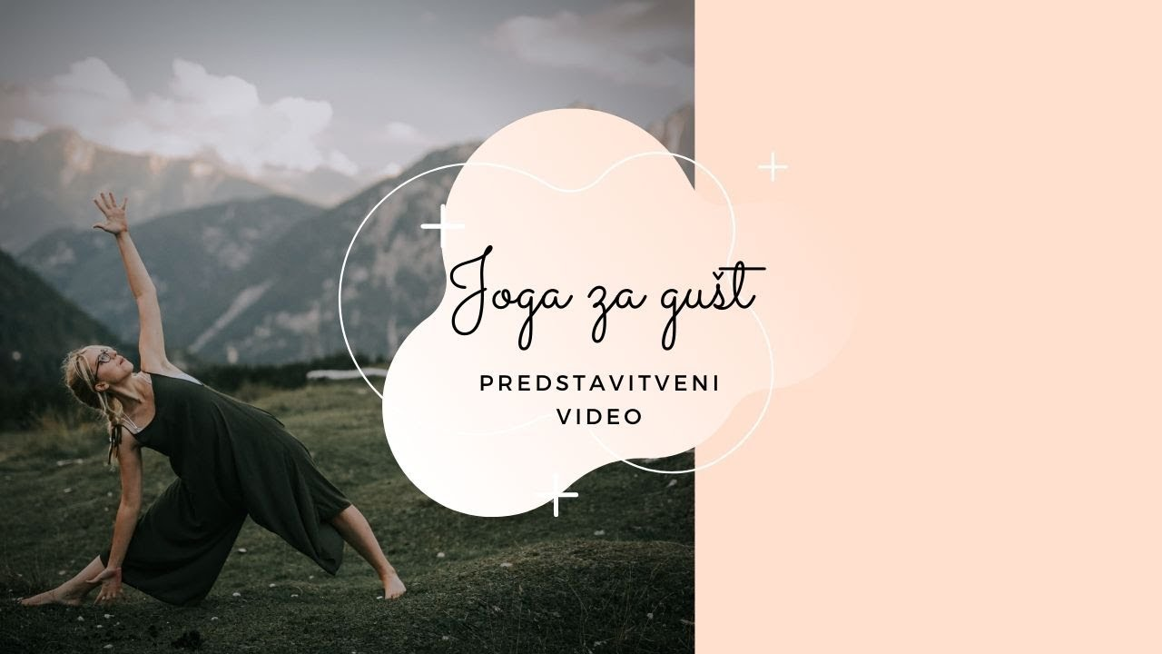Joga za gušt z Nadico - promo video