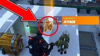 Comment obtenir le JETPACK CHAQUE JEU à Fortnite: Battle Royale! - Obtenez New Fortnite Jetpack Gameplay!
