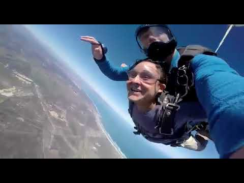 Travel Synonyms (Sky Dive, Cape town, South Africa) - YouTube