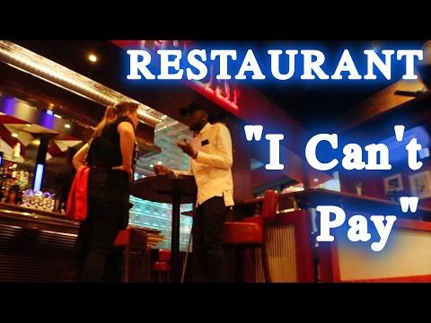 "London Hacks - Restaurant ""I CANT PAY"""