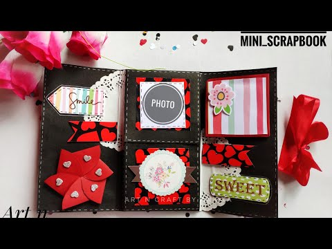 Handmade birthday Multi fold mini album|best birthday gift ideas|diy| gift for friends