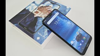NOKIA 6.1 PLUS /  X6 Smartphone - Android 9 PIE - $210