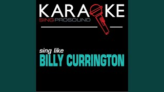 Walk a Little Straighter (In the Style of Billy Currington) (Karaoke with Background Vocal)