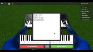 Roblox Piano Sheet I Faded