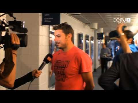 Roger Federer tente de déconcentrer Stan Wawrinka