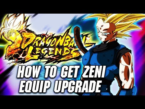 DRAGON BALL LEGENDS: Equipment Guide & THE BEST WAY TO GET ZENI
