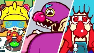 WarioWare: Touched! - All Character Victory & Losing Animations